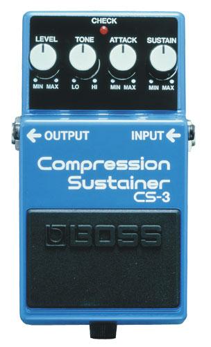 Рис. 1 Компрессор Boss CS-3